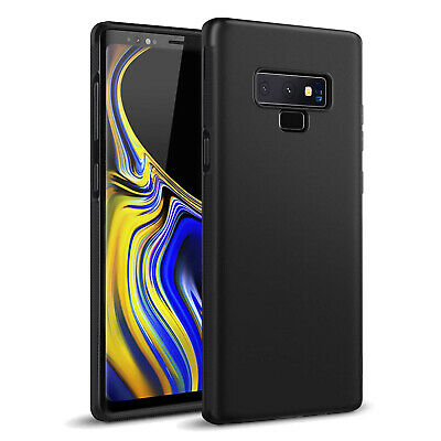 $ CDN9.99 • Buy For Samsung Galaxy S10 S9 S8+ Black Slim Shockproof Silicone Soft TPU Cover Case