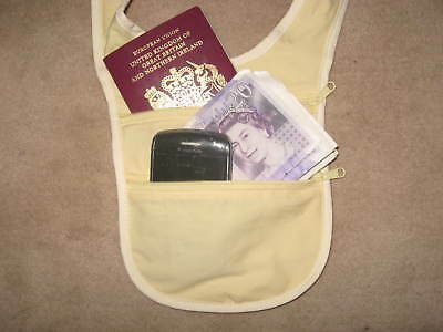 £3.49 • Buy NEW - Neck Wallet/ Security Pouch! Better Than A Money Belt!