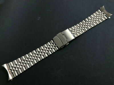 $ CDN31.13 • Buy Plain Jubilee 22mm Stainless Steel Bracelet For SKX007 Diver Watch And Others