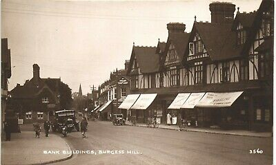 Burgess Hill. Bank Buildings # 3560. • 23.50£