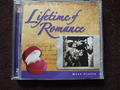 Time Life Lifetime Of Romance Move Closer Double CD.Discs In Excellent Condition • 7.99£