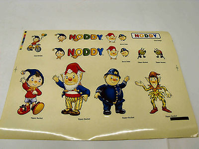 Noddy Sticker/decal/transfer Set For Nursery Cot,toys,wall,furniture • 3.99£