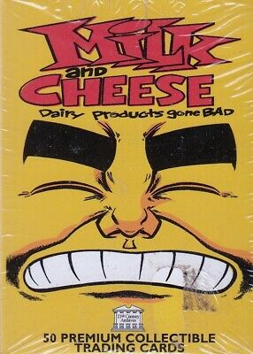 $26.99 • Buy Milk And Cheese 1995 21st Century Complete Factory Base Card Set Of 50 + 1 Mc