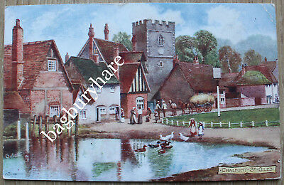 Postcard: Chalfont St. Giles. Raphael Tuck. Posted To Hove, 1906. • 2.99£