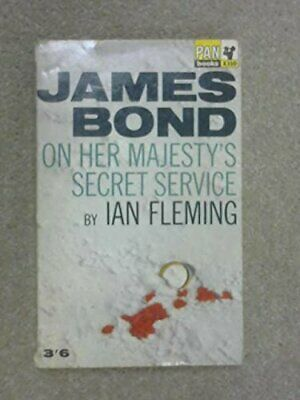 £5.49 • Buy On Her Majesty's Secret Service By Ian Fleming Paperback Book The Cheap Fast