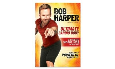 CARDIO EXERCISE DVD - Bob Harper ULTIMATE CARDIO BODY • 6.14£