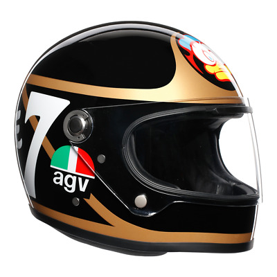Agv X3000 Barry Sheene Limited Edition Motorcycle Helmet Small • 329.99£