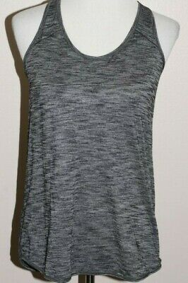 7a8f64bb10e Lululemon Essentials Tank Heathered Black Gray EUC Very Cute Activewear •  25.00
