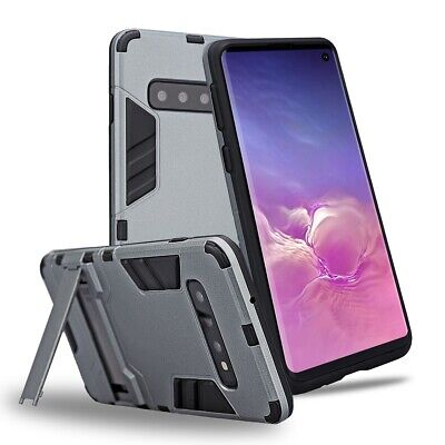 $ CDN11.99 • Buy For Samsung Galaxy S10 Plus S10E S9 S8 S7 Shockproof Armor Stand Hard Case Cover