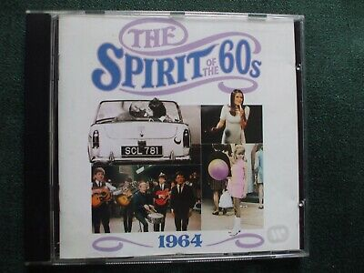 Time Life The Spirit Of The 60s 1964 CD.Kinks.Searchers,Animals,Cilla,Hollies. • 6.99£