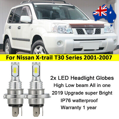 AU35.99 • Buy For Nissan X-trail T30 2001- 2007 Headlight Globes High Low Beam 9600lm LED Set