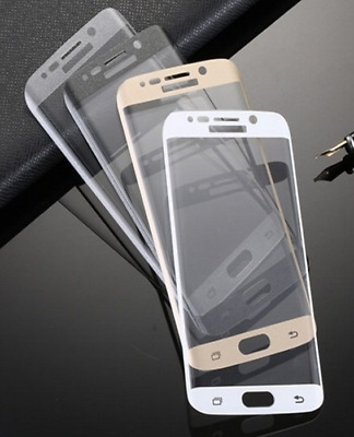 $ CDN6.97 • Buy Full Coverage Tempered Glass Curved Screen Protector For Samsung Galaxy S7 Edge
