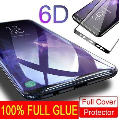 $ CDN3.54 • Buy Full Glue Adhesive Tempered Glass For Samsung Galaxy S9/S8/Plus/Note 9/Note 8 Sd