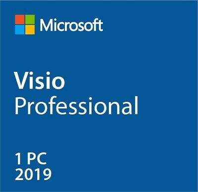 $4.83 • Buy Instant MS Visio 2019 Pro Professional (32/64 Bit) Activation Product [Key] 1 PC