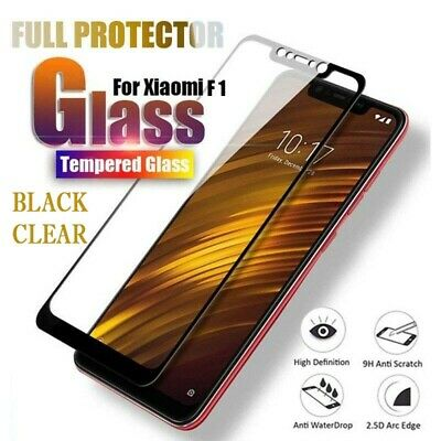 AU3.12 • Buy For Xiaomi Pocophone F1 Full 3D Tempered Glass 9H Screen Protector Cover Bu