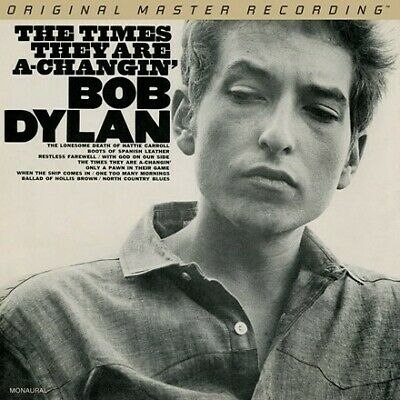 £44.99 • Buy Bob Dylan The Times They Are A-Changin' Ltd. Edition Of 3000 CD MOFI UDSACD 2179