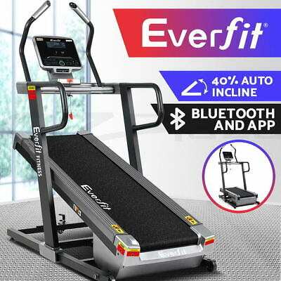 AU1899.95 • Buy Everfit Treadmill Electric Incline Trainer Auto Gym Exercise Machine Fitness Run
