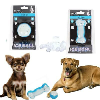 £6.49 • Buy Ice Bone And Ball Cooling Pet Toys Hydrating Anti Heat Stress Teething Puppy Toy