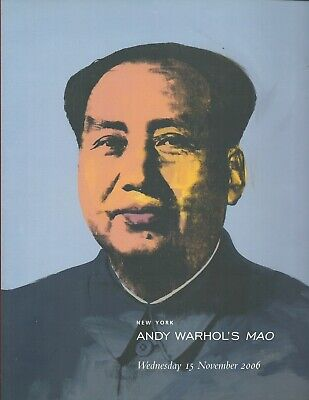$49.95 • Buy CHRISTIE'S ANDY WARHOL MAO Auction Catalog 2006