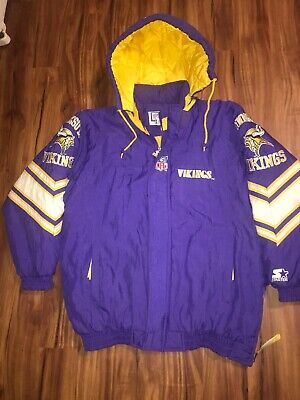 quality design 738d3 0699b minnesota starter jacket