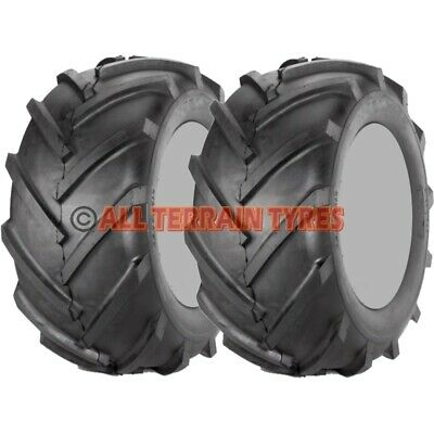 18x8.50-8 Ride On Lawn Mower Chevron Tractor Cleated Agri Tread TYRES 18 850 8 • 98.90£