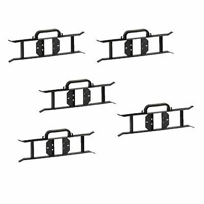 5 X Cable Wire Tidy Reels H Frame Extension Power Lead Carrier Holder Garden BLK • 15.92£