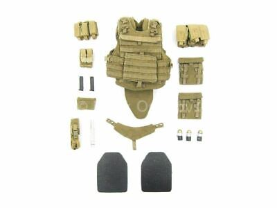 $61.75 • Buy 1/6 Scale Toy USMC RCT 6th Regiment - Tan Tactical Plate Carrier & Pouch Set