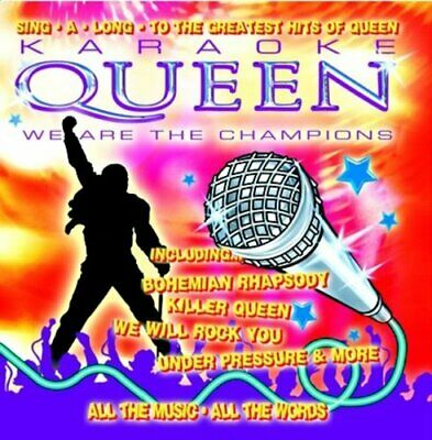 £5 • Buy Queen - Karaoke Queen - We Are The Champions - Queen CD OIVG The Cheap Fast Free