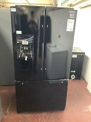 View Details Samsung G-Series RFG23UEBP American Fridge Freezer A+ Rated - Black #222591 • 620.00£