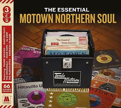 The Essential Motown Northern Soul - Diana Ross Kim Weston  - 3 Cds - New!! • 5.95£
