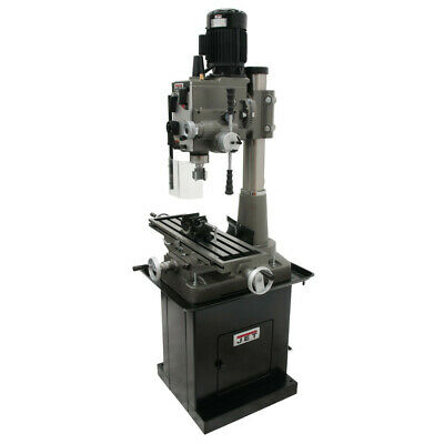 $7999 • Buy JET 351152 Square Column Mill Drill With Power Downfeed And DP700 2-Axis DRO New