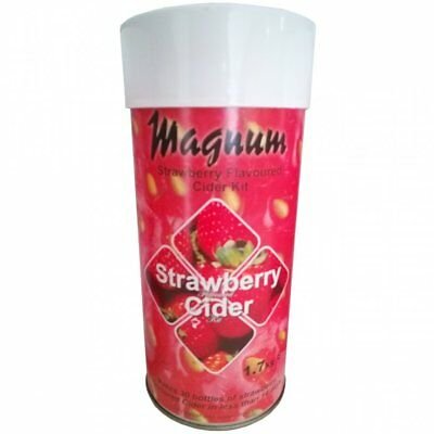 Magnum Cider STRAWBERRY Kit Home Brew Refill Ingredient - Makes 40 Pints • 25.95£