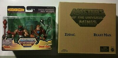 $19.99 • Buy He-man- Masters Of The Universe- Zodac And Beastman Mini 2 Pack Matty 2014