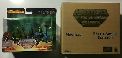 $22.99 • Buy He-man Masters Of The Universe- Mossman & Battle Armor Skeletor Mini 2 Pack 2014