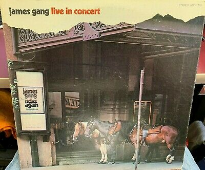 $ CDN17.36 • Buy The James Gang Live In Concert Lp 1971 Abc Records Abcx733 Inner