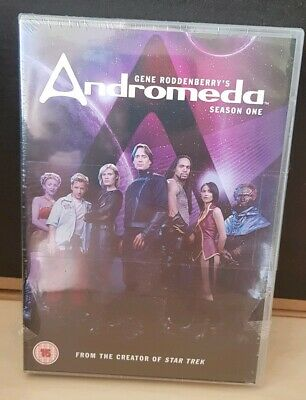 Andromeda - Series 1 - Complete (DVD, 2013, 6-Disc Set, Box-Set) New And Sealed  • 14.99£