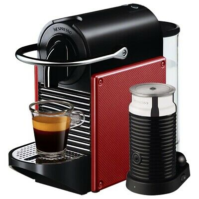 View Details Nespresso Pixie Coffee Maker M110 By Magimix - Carmine Red  • 66.99£