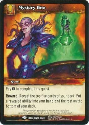 AU4.75 • Buy 8x Mystery Goo - Horde Mage 31/31 - Common NM WoW World Of Warcraft