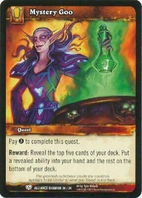 AU4.75 • Buy 8x Mystery Goo - Alliance Shaman 34/34 - Common NM WoW World Of Warcraft