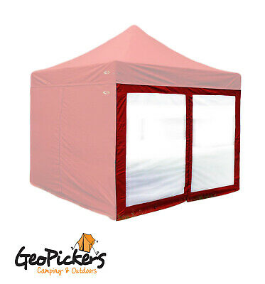 AU24.90 • Buy Single Outdoor Connection YELLOW Mesh Wall Panel With Door To Suit 3m Gazebo