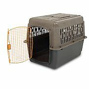 $106.55 • Buy XL Dog Crate Large Travel Plastic Airline Approved Pet Kennel 36  Cage 50-70 Lbs
