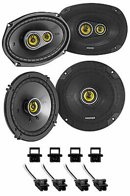 $154.95 • Buy Kicker 46CSC Front+Rear Speaker Replacement For 2000-13 Chevrolet Chevy Impala