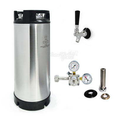 AEB (Cornelius Corny) Beer Keg 19L Kegerator Conversion Kit With Shank & Tap • 223.89£