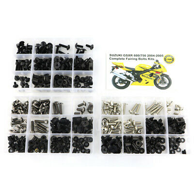 $32.95 • Buy Motor Fairing Bolts Screws Kit Fit For 2004 2005 Suzuki GSXR600 GSXR750 Silver