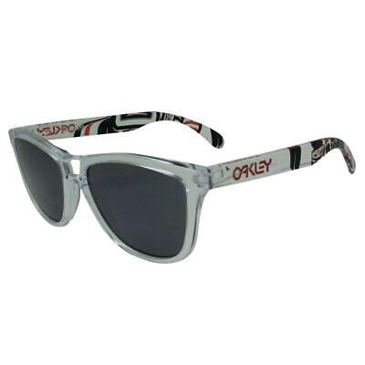 $176.42 • Buy Oakley 24-338 Frogskins Danny Kass Polished Clear Grey Rare Collector Sunglasses