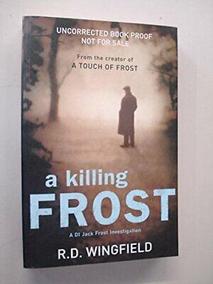 A Killing Frost By Wingfield, R. D. Book The Cheap Fast Free Post • 4.49£