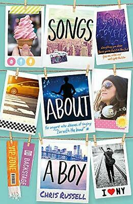 Songs About A Girl: Songs About A Boy: Book 3 From A Zoella ... By Chris Russell • 5.99£