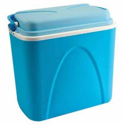 Cool Box 24l 24 Litre Coolbox Cooler Camping Beach Picnic Food Ice Large • 13.79£
