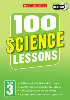 100 Science Lessons: Year 3 (100 Lessons - New Curriculum) By Anderson, Malcolm • 16.65£
