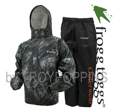 76fbc5566dc3c Frogg Toggs Rain Gear-as1310-168 Mens Mo Elements Blacktip/black Suit  Fishing